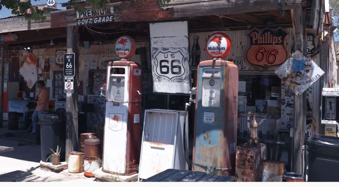 Classic Road Trips: Route 66 From Hackleberry To Seligman, Arizona (Video)