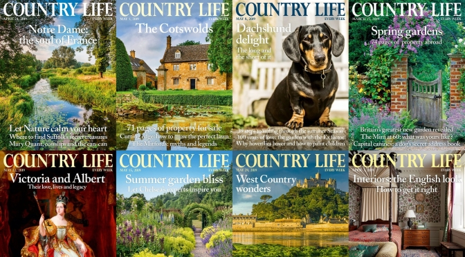 Front Covers: Country Life Magazine – SEP 22