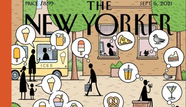 Cover Previews: The New Yorker – September 6, 2021