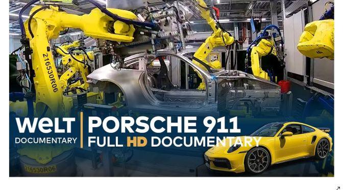Documentary: Building A Porsche 911 (HD Video)