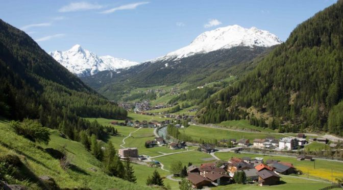 Alpine Drives: The 'Ötztal Valley', Western Austria