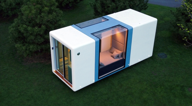 Views: Hi-Tech Factory-Built Portable Micro Homes From 'MICROHAUS'