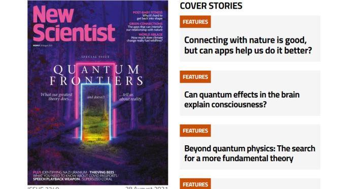 Previews: New Scientist Magazine – August 28