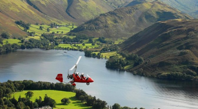 Flight Views: Lake District, England In An Autogyro