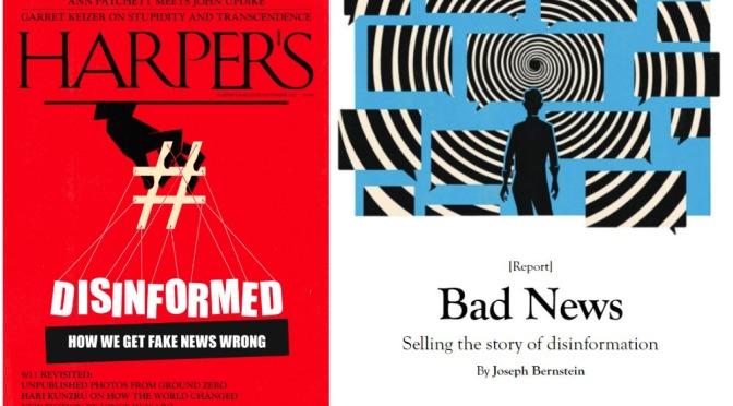 Front Covers: Harper's Magazine – September 2021