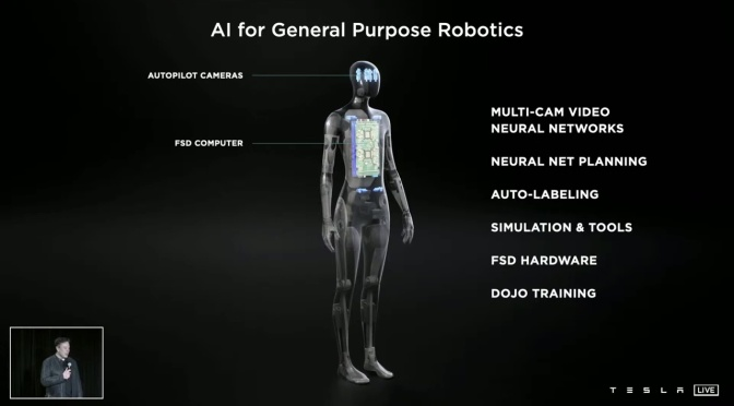 Views: Humanoid Robot Unveiled By Elon Musk