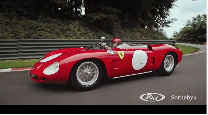 Italian Racing Cars: The '1962 Ferrari 268 SP' (Video)