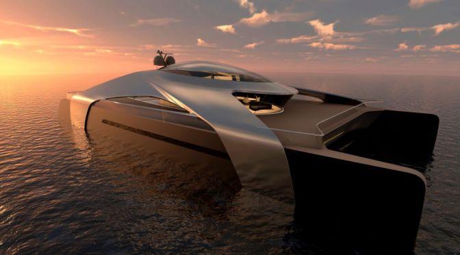 Design: Migma Hydrogen-Powered Catamaran By RUMA In Madrid, Spain