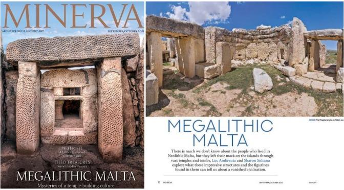 Archaeology/Art: Minerva Magazine – September 2021