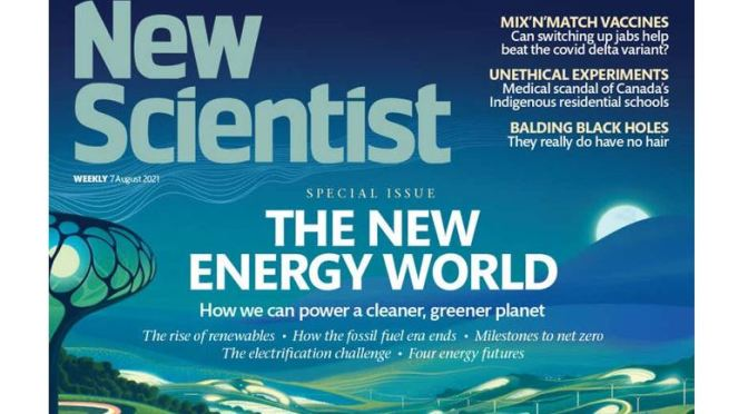 Front Cover Views: New Scientist Magazine – Aug 7