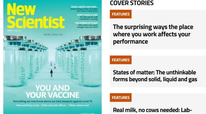 Previews: New Scientist Magazine – August 14