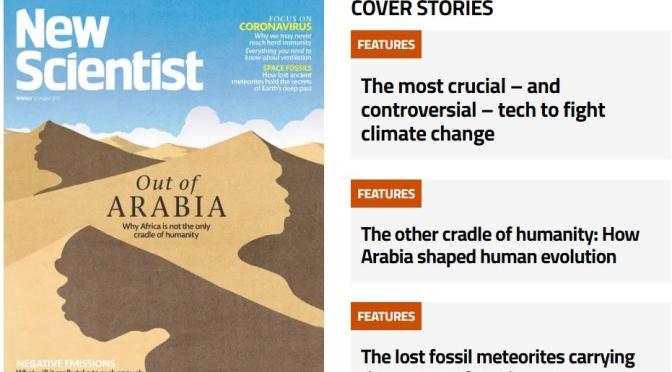 Previews: New Scientist Magazine – August 21