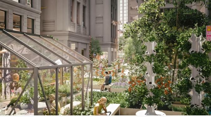 Views: ODA Architects 'Reimagines' The Flower District in New York City