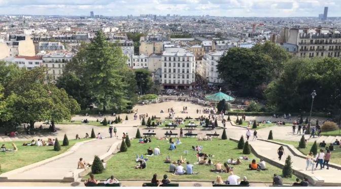 Paris Walks: Sacré-Cœur In The Montmartre (4K)