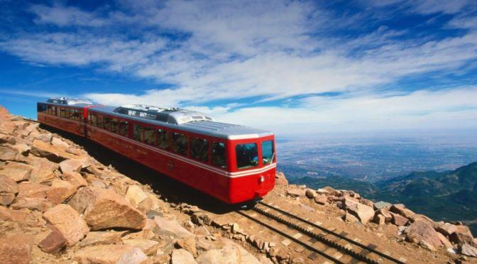 Colorado Views: Newly Renovated 'Pikes Peak Cog Railway' – Manitou Springs