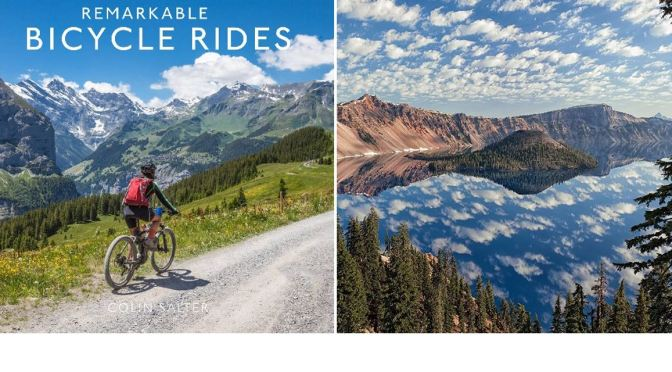 """Outdoor Sports Books: """"Remarkable Bicycle Rides"""""""