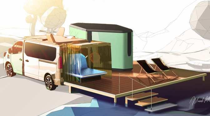 Concept Camper Vans: Renault Electric '2022 Hippie Caviar Hotel' (Video)
