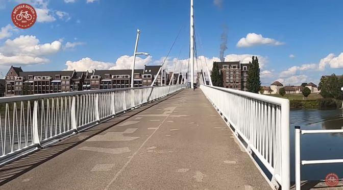 Views: Cycling Bridge On Donge River, Netherlands