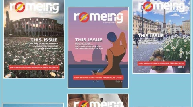 Cover Views: 'Romeing' Magazine – August 2021