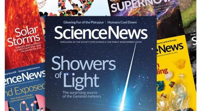 Magazine Views: Science News – August 14, 2021