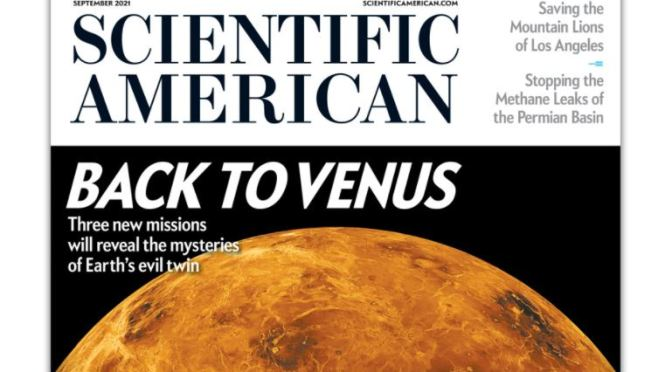 Cover Preview: Scientific American – September 2021
