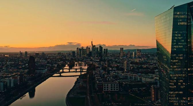Skyline Views: Frankfurt – Western  Germany (4K)