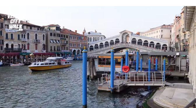 Walking Tour: Riva Del Carbon In Venice, Italy