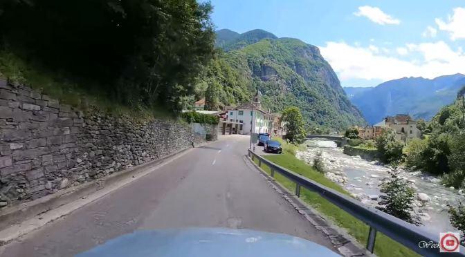 Swiss Drives: Fontana To Giumaglio In Ticino (4K)