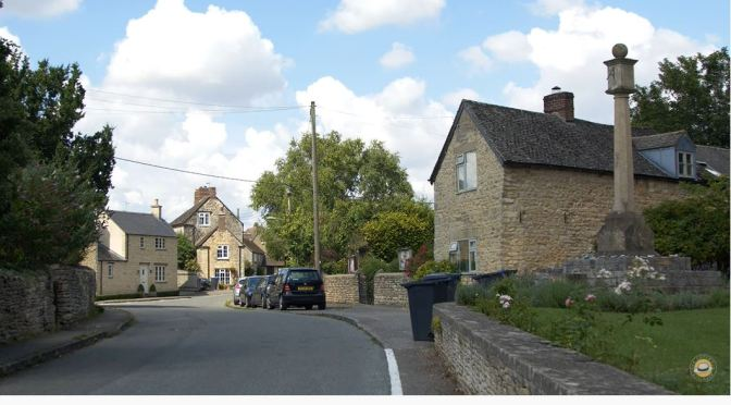 The Cotswolds: Village Of Wootton, Bedfordshire
