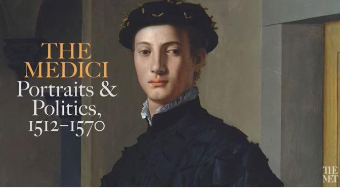 Met Museum Exhibit Tour: The Medici – Portraits And Politics, 1512-1570 (Video)