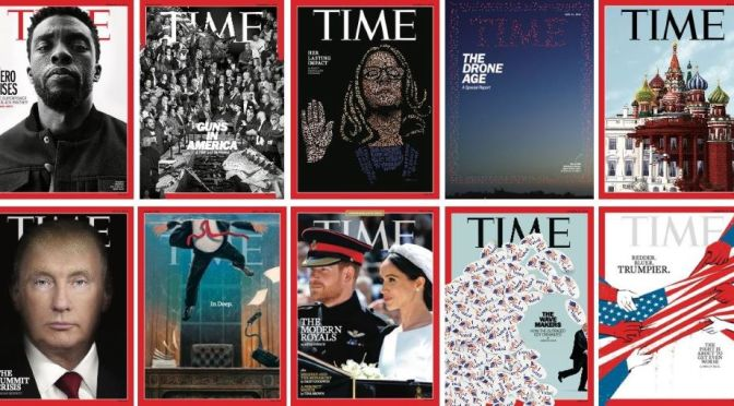 Front Covers: 'Time Magazine' – Aug 23-30