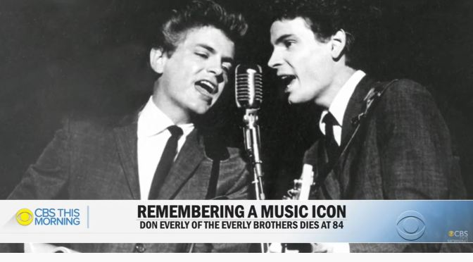 Tributes: Don Everly Of 'Everly Brothers' Dies At 84