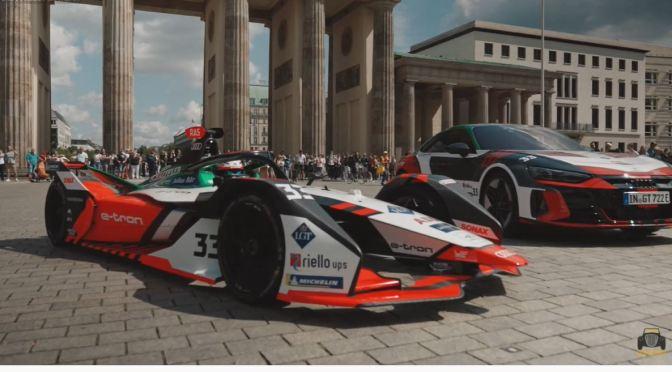 Views: Driving An Audi Formula E FE07 Race Car Through Berlin (Video)