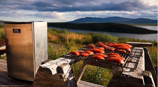 Views: Smoking Copper River Salmon In Alaska