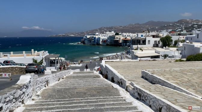 Views: Streets & Beaches Of Mykonos Island (4K)