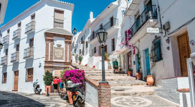 Village Walks: Frigiliana – Andalusia, Spain (4K)