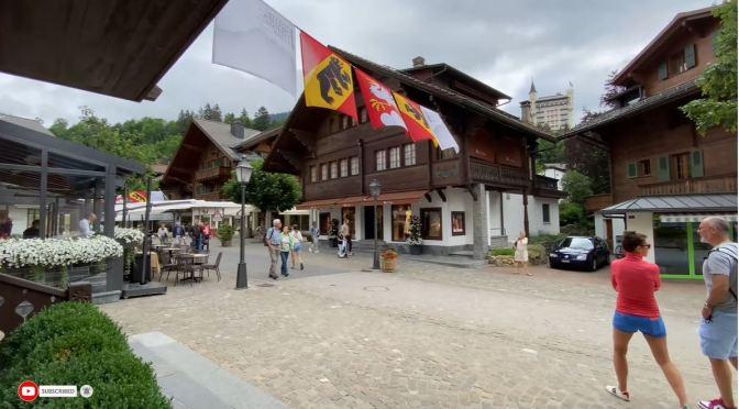 Summer Walks: Gstaad – Switzerland (4K Video)