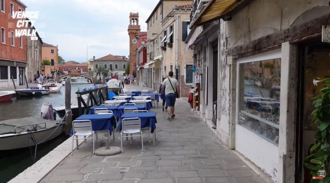 Walking Tour: Murano Island In Venice, Italy (4K)