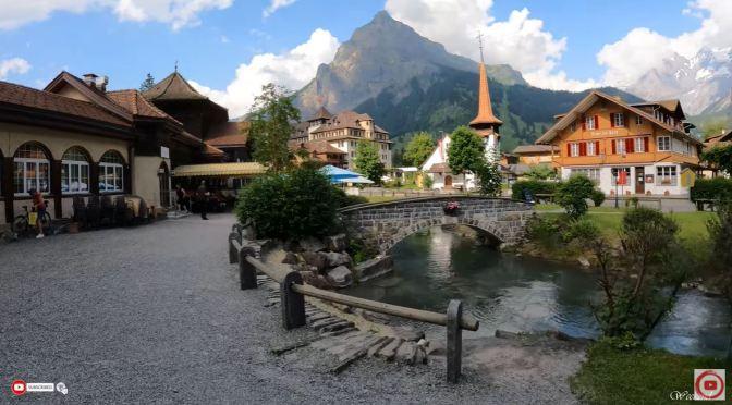 Alpine Walk: Kandersteg – Switzerland (4K Video)
