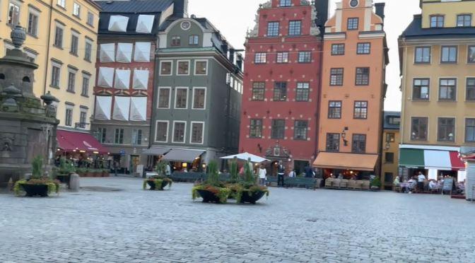 Walking Tours: Old Town Stockholm, Sweden (4K)