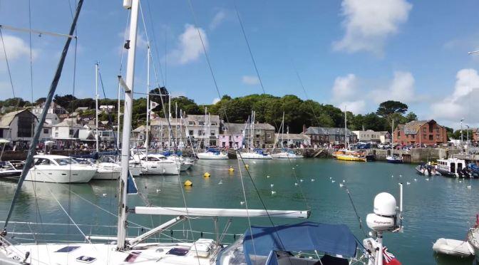 Seaside Walks: Padstow In Cornwall, England (4K)