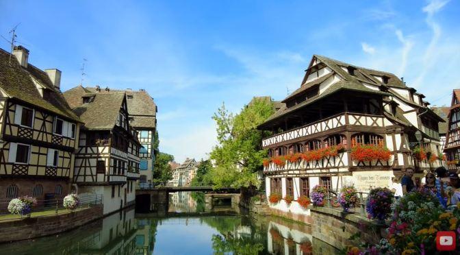 Walks: Petite-France In Strasbourg (4K Video)