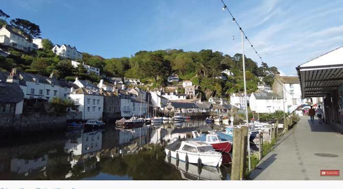 Village Walks: Polperro – Cornwall, England (4K)