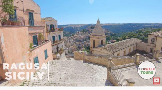 Village Walks: Ragusa – Southeastern Sicily (4K)