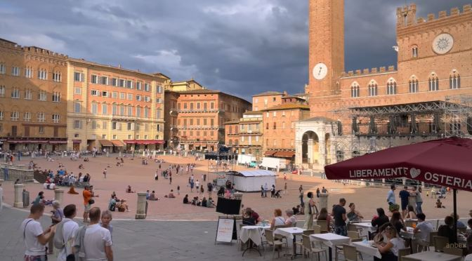 Walking Tour: Siena in Tuscany, Northern Italy