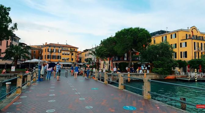 Walks: Sirmione On Lake Garda, Northern Italy (4K)
