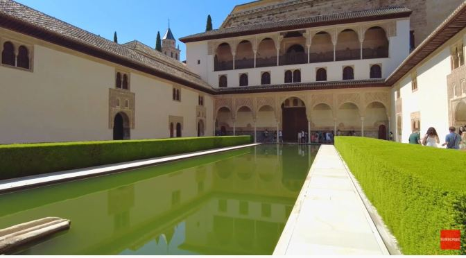 Tours: The Alhambra Palace, Granada, Spain (4K)