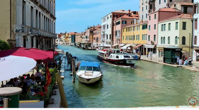 Summer Walks: Streets & Canals Of Venice, Italy (4K)