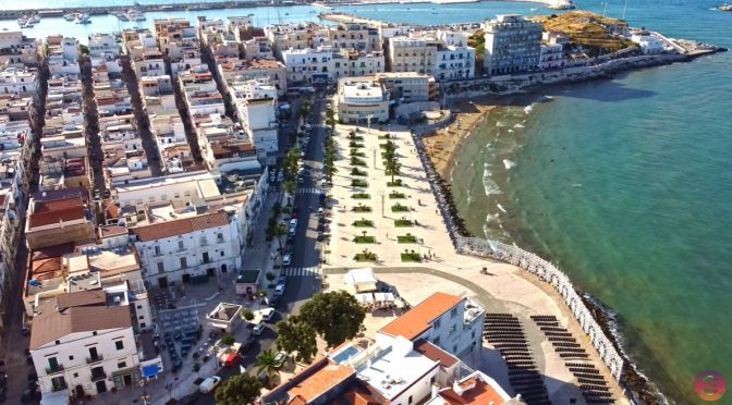 Walking Tours: Vieste In Puglia, Italy (4K Video)