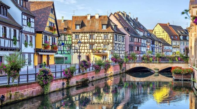 Top Village Walks: Vieux Colmar In France (4K)